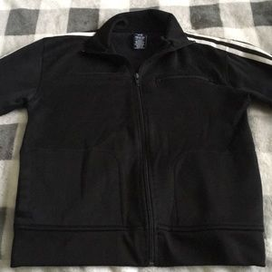B2G1! GAP Boys Size 7/8 Black Athletic Zip Up